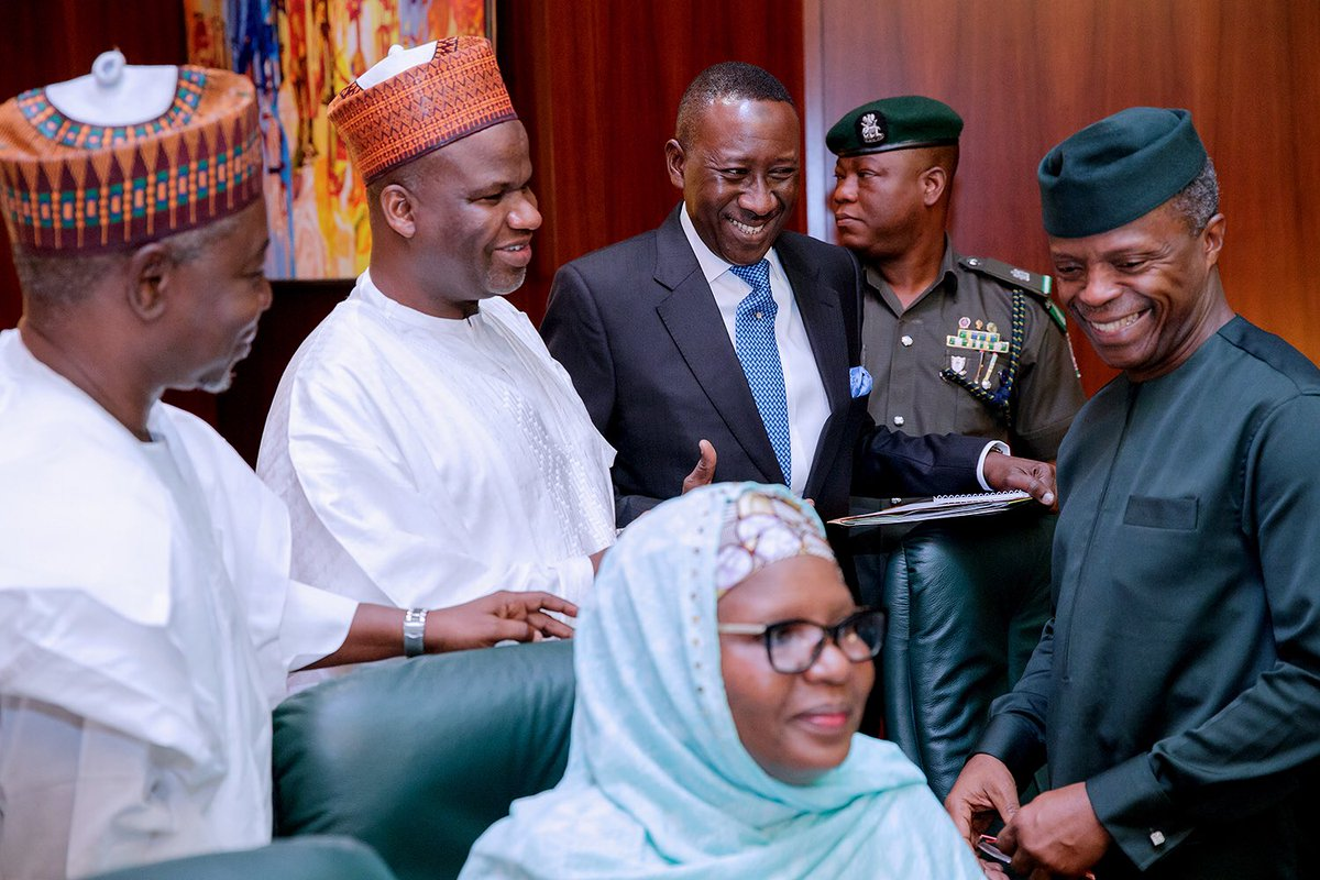 I Approved NNPC Contracts after Due Diligence, Says Osinbajo