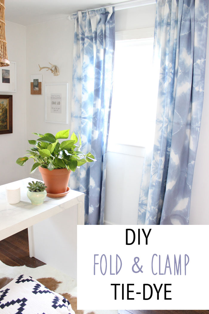 Diy Fold Clamp Tie Dye
