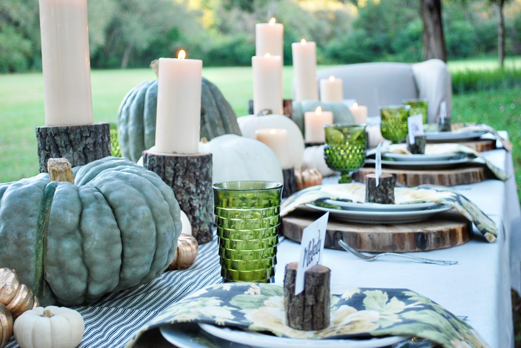 Introducing Tuesday's Tablescape: Fresh Fall