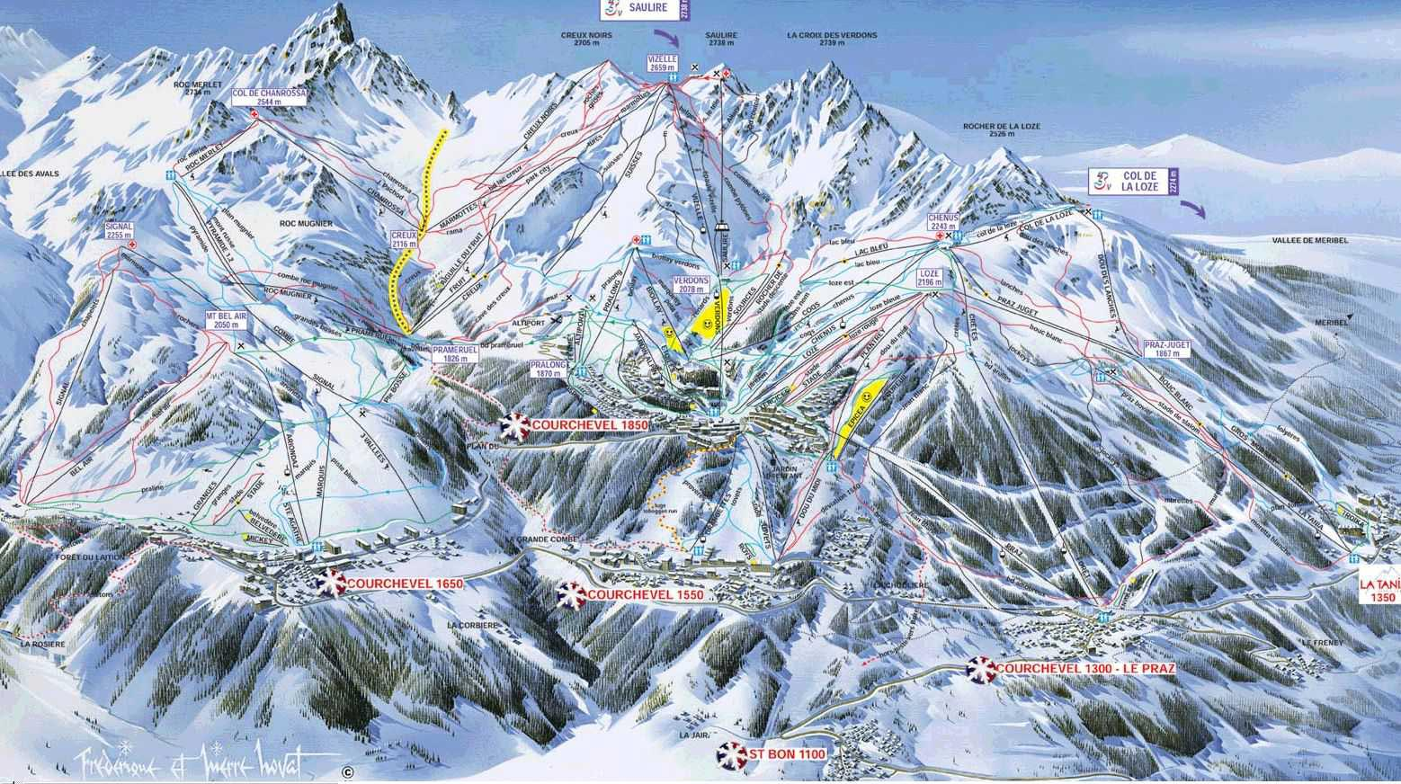 Courchevel Trois Vallees Resort Guide And Luxury