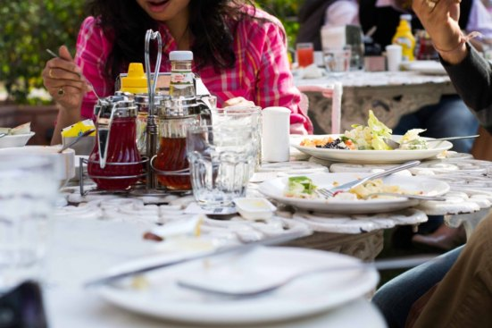 Saturday Brunch @ All American Diner India Habitat Center 4