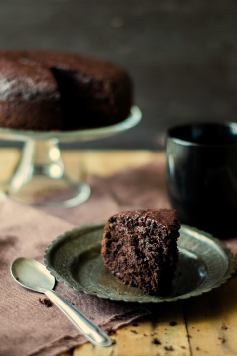 Beetroot & Chocolate Olive Oil Cake 4