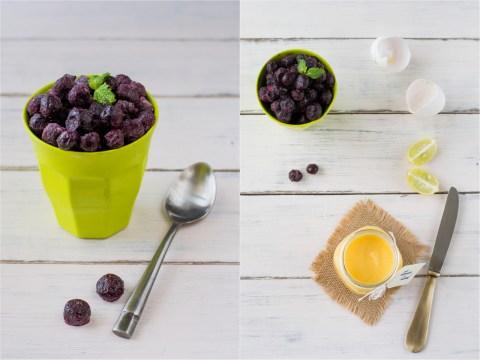 Lemon Curd & Blueberry Gateau 7