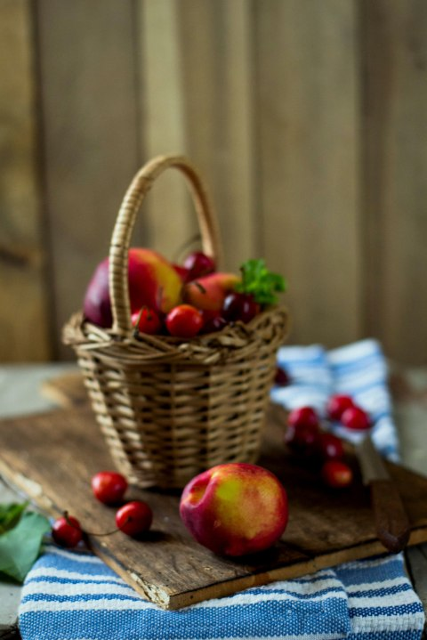 Nectarine & Cherry Almond Tarts 6