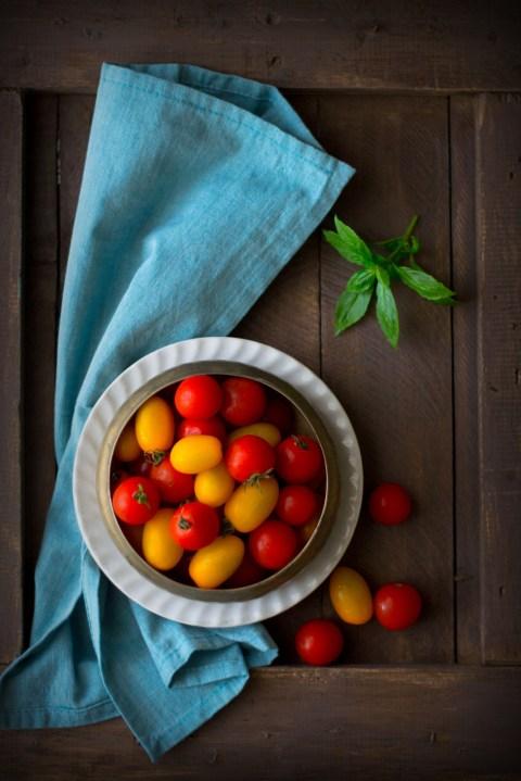 Tomato Goat Cheese & Basil Pesto Tart 1