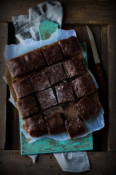 Wholewheat Dark Chocolate Brownies