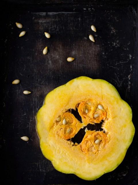Pumpkin Maple Mascarpone Roulade