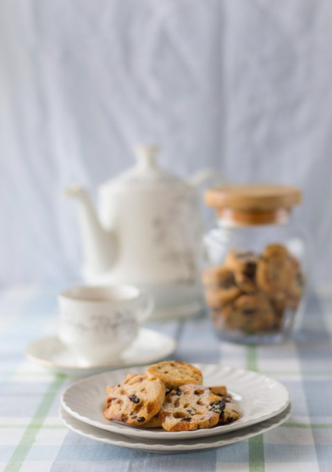 Leftover Mincemeat Fruitcake Cookies