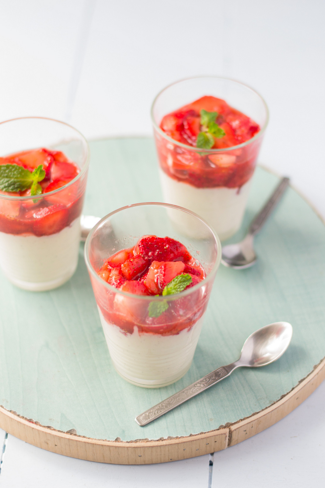 White Chocolate Mousse With Macerated Strawberries - The ...