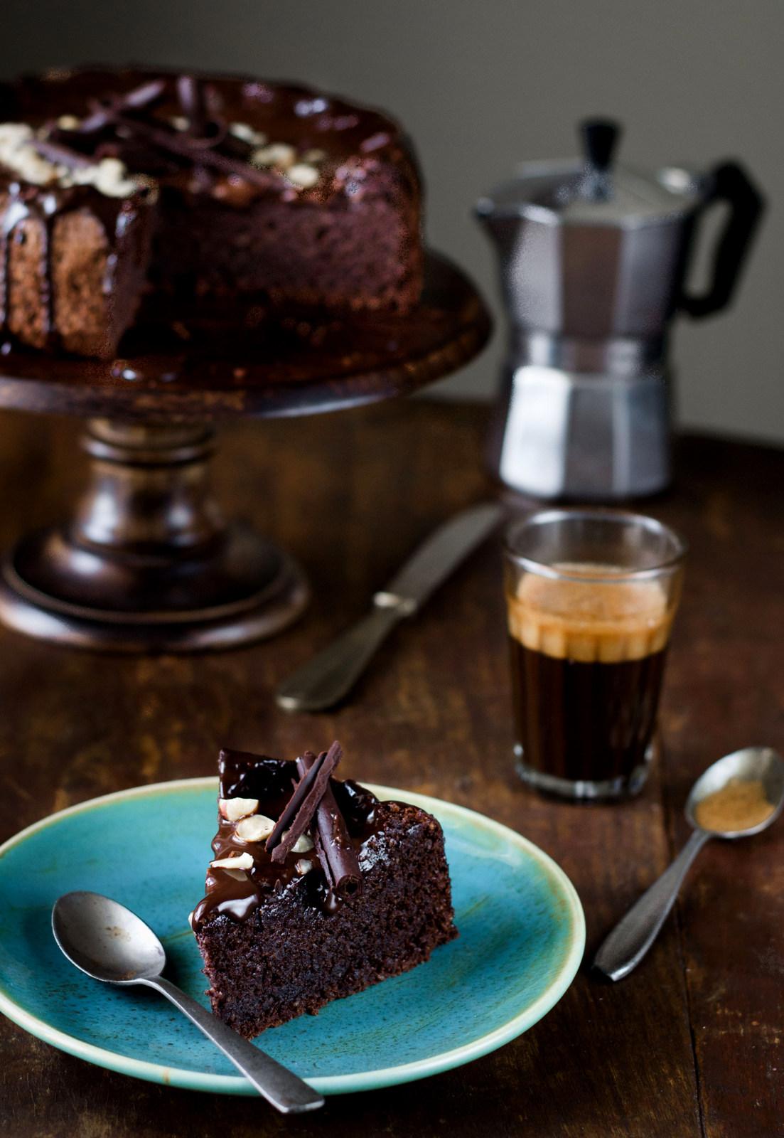 Flourless Chocolate Hazelnut Cake, Gluten Free - The White Ramekins