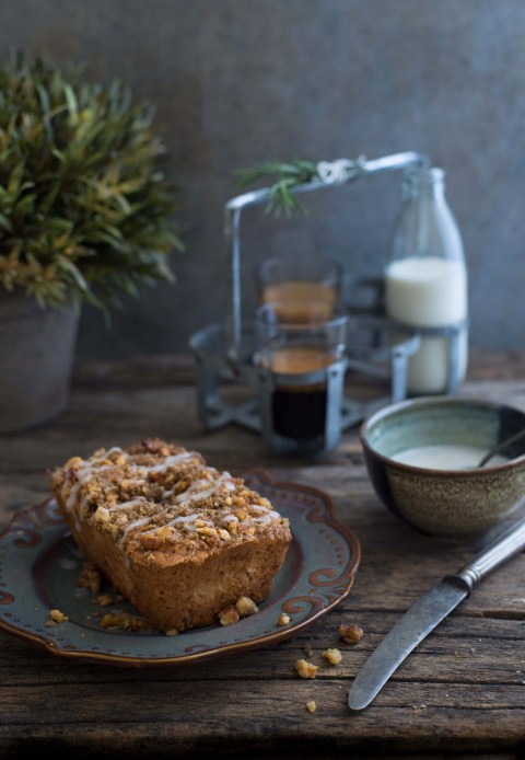 Pear Ginger & Rosemary Cake