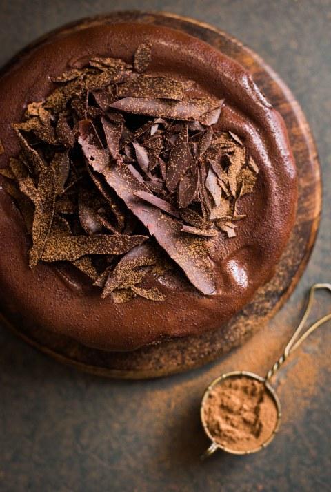 Gluten Free Chocolate Beetroot Amaranth Cake
