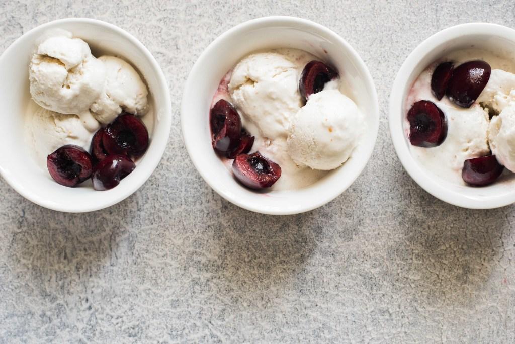 Young Coconut Ice Cream