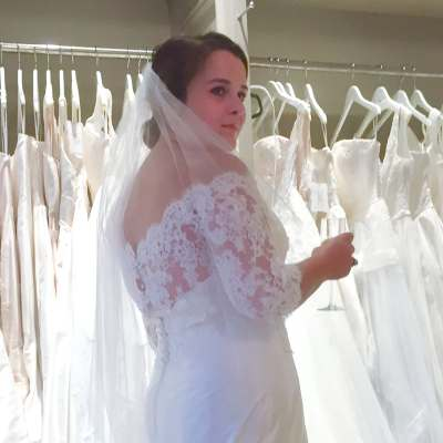 Corsets, Covered Buttons, and Clinking Glasses : Finding Your Wedding Dress!