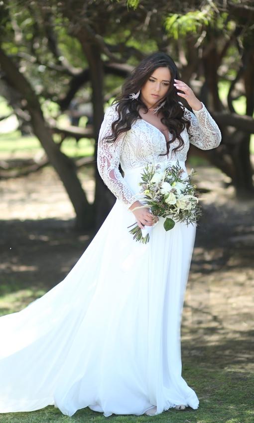 Studio Levana bridal gown