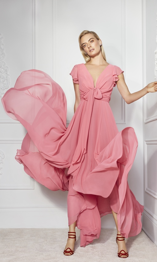 Frascara pink dress
