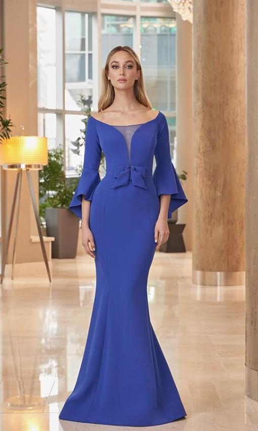Daymor blue dress