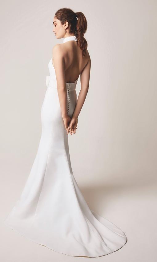 jesus peiro 112 halter gown back
