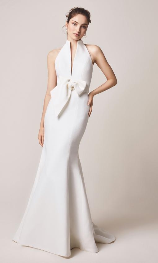 jesus peiro 112 halter gown front