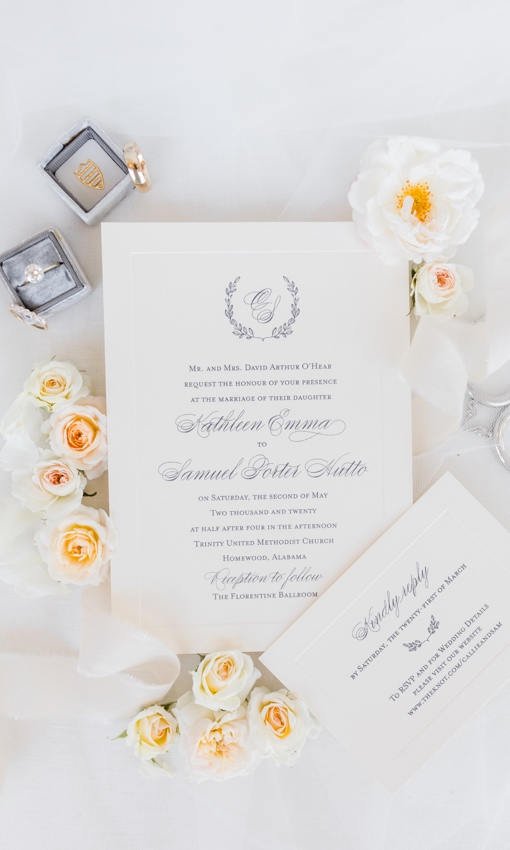 invitations and rings for marriage