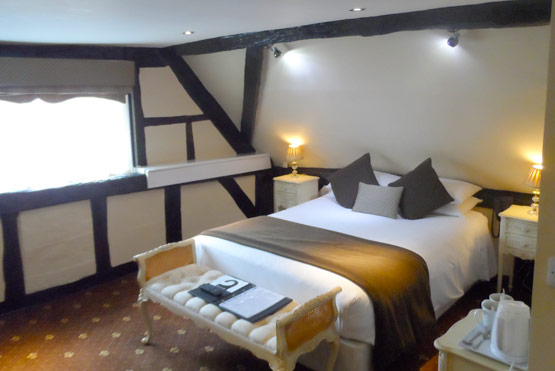 Diamond Suite at the White Swan Hotel in Henley