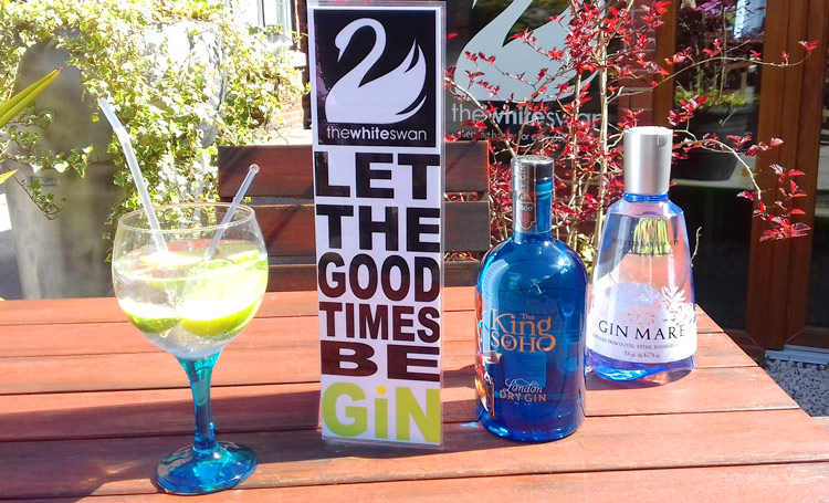 Let the good times be gin at the White Swan in Henley