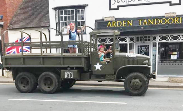Not the sort of thing you normally expect to see in Henley Hight Street