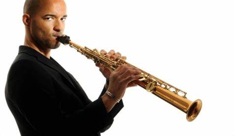 Saxophonist Julian Smith BGT appearing at The White Swan Hotel Henley in Arden