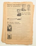 The front cover featuring Richard Wacker, published on May 22, 1964. -Photo from university archives