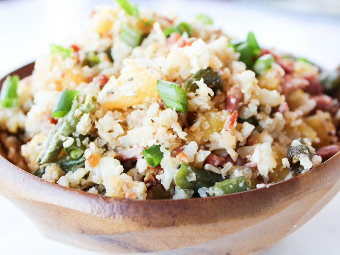 Pineapple Cauliflower Rice by The Whole Cook(2)
