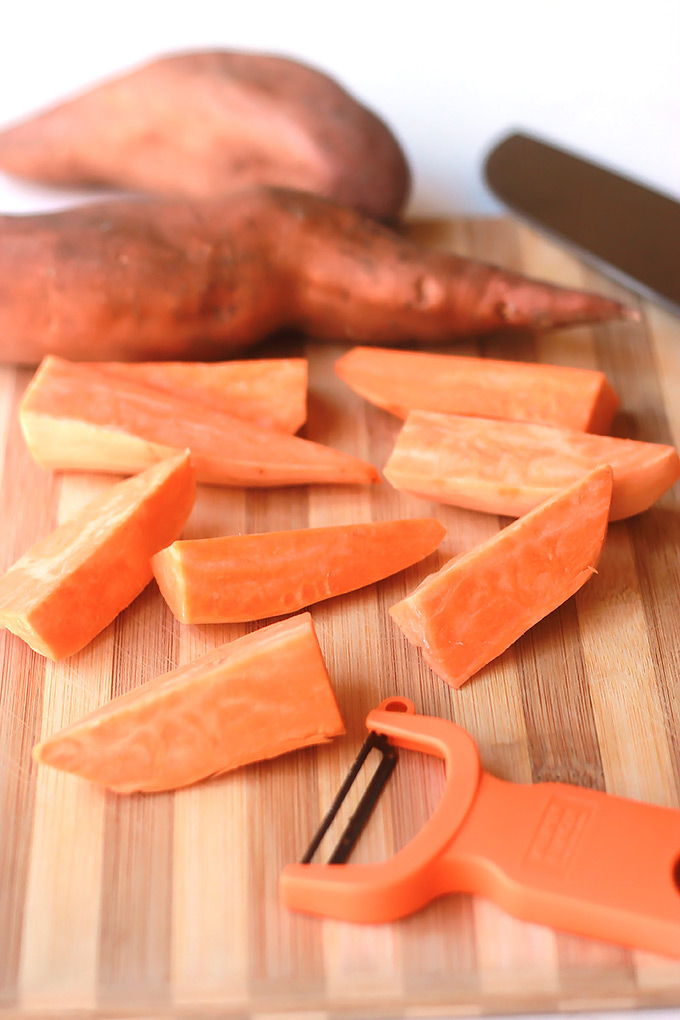 Chopped-Sweet-Potatoes