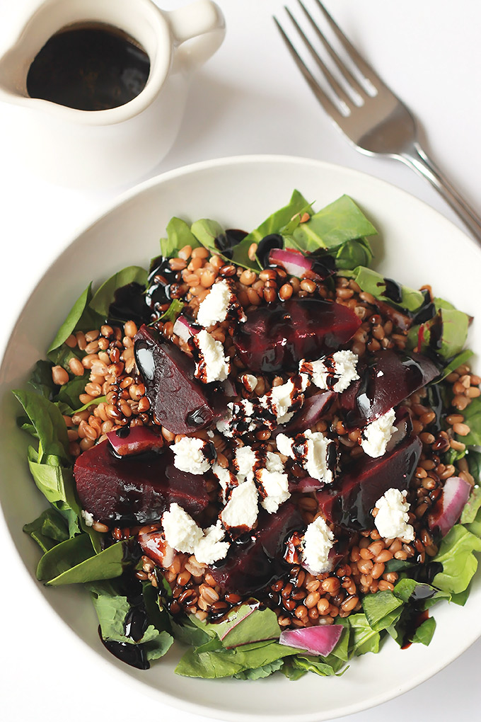 Wheat-Berry-Beet-Salad