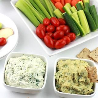 Spinach Garlic & Herb Spread