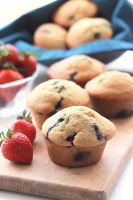 """Sweet, tender, filled with fresh fruit, Classic Breakfast Muffins, one of the many recipes you will find in """"Dining At The Ravens"""" cookbook, no one will guess they're egg free!"""