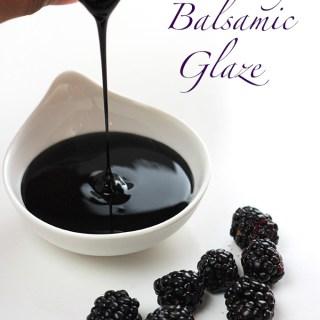Blackberry Balsamic Glaze