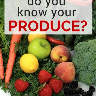 Organic or Non-Organic, What's In Your Produce?