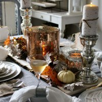 Pretty Pintastic Party #132 and Elegant Thanksgiving Tablescape