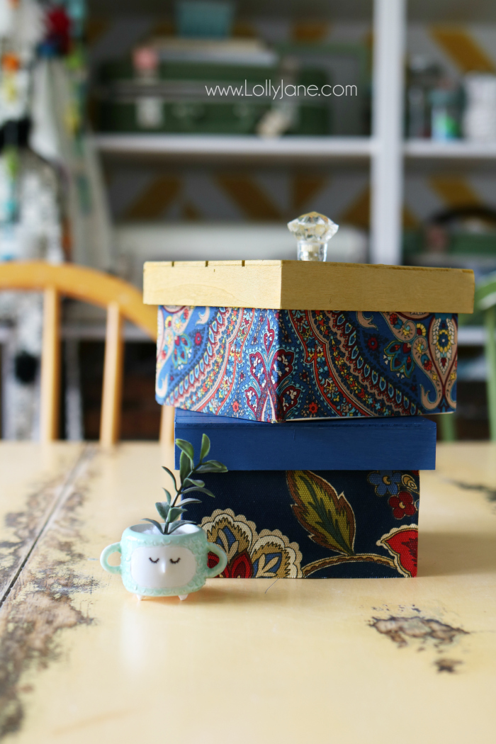 Welcome to Pretty Pintastic Party #142 and a Lolly Jane Craft. My feature this week is a craft post from Lolly Jane, these boxes can be used to organize whatever you have beautifully.