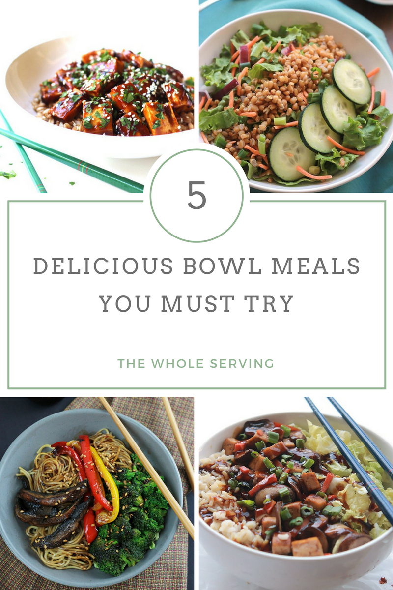 Grab your bowl and spoon for 5 Delicious Bowl Meals You Must Try, full of flavor and texture. One bowl meals are brilliant and the perfect