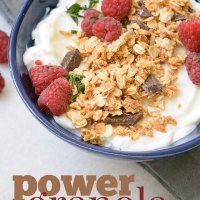 Pretty Pintastic #160 & Power Granola Breakfast
