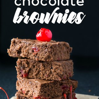 Pretty Pintastic Party #164 & A Cherry Chocolate Brownie Recipe!