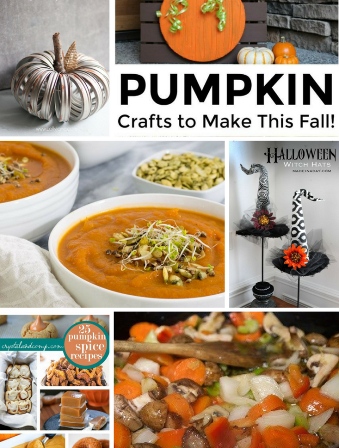 Welcome to Pretty Pintastic Party #179 & Weekly Features perfect for pumpkin season. Pretty Pintastic Party, where every post is pinned
