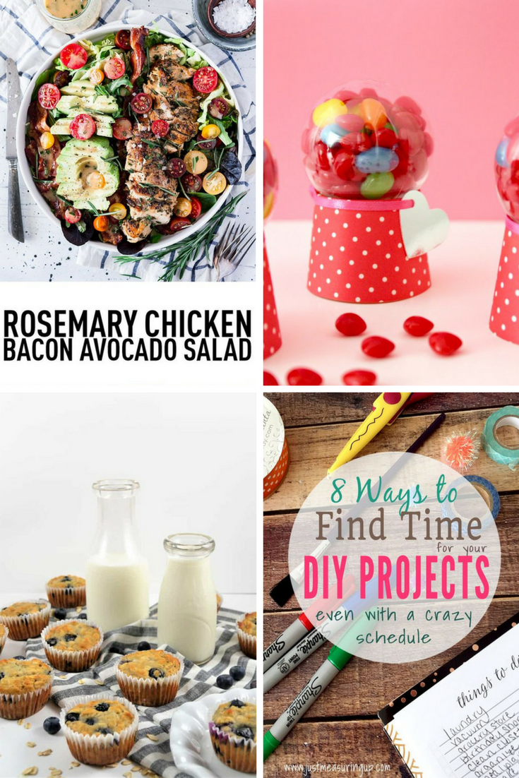 Welcome to Pretty Pintastic Party #192 & the Weekly Features! This week features are DIY activities and delicious recipes. Check them out along with the other links below and have a happy and safe weekend.