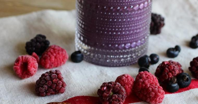 Smoothie de Berries y Acai