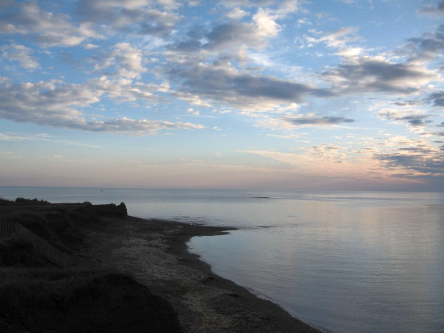 August 1, 2009 sunrise, North Cape PEI