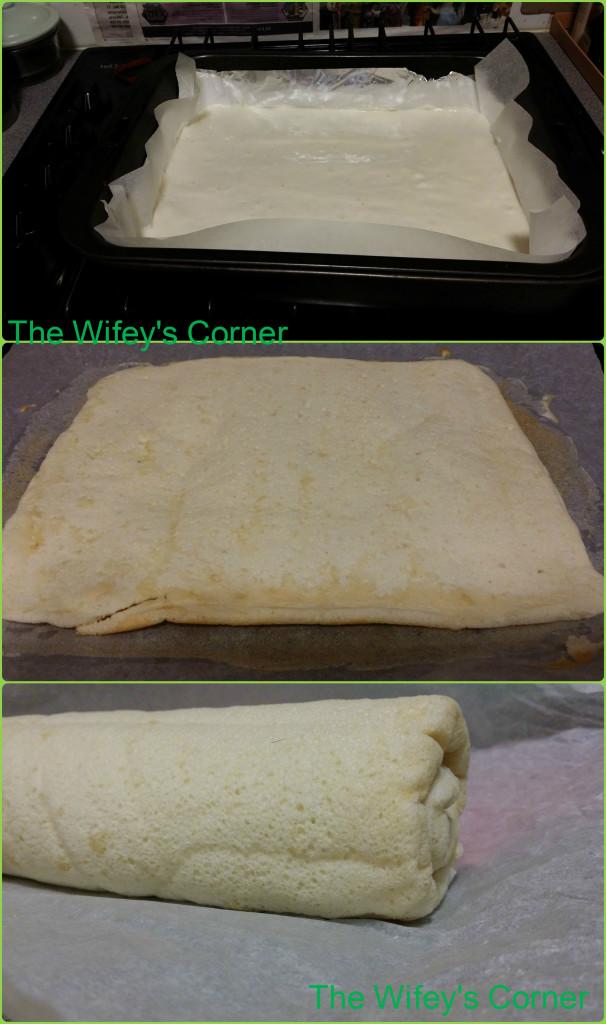 egg white rolled cake1