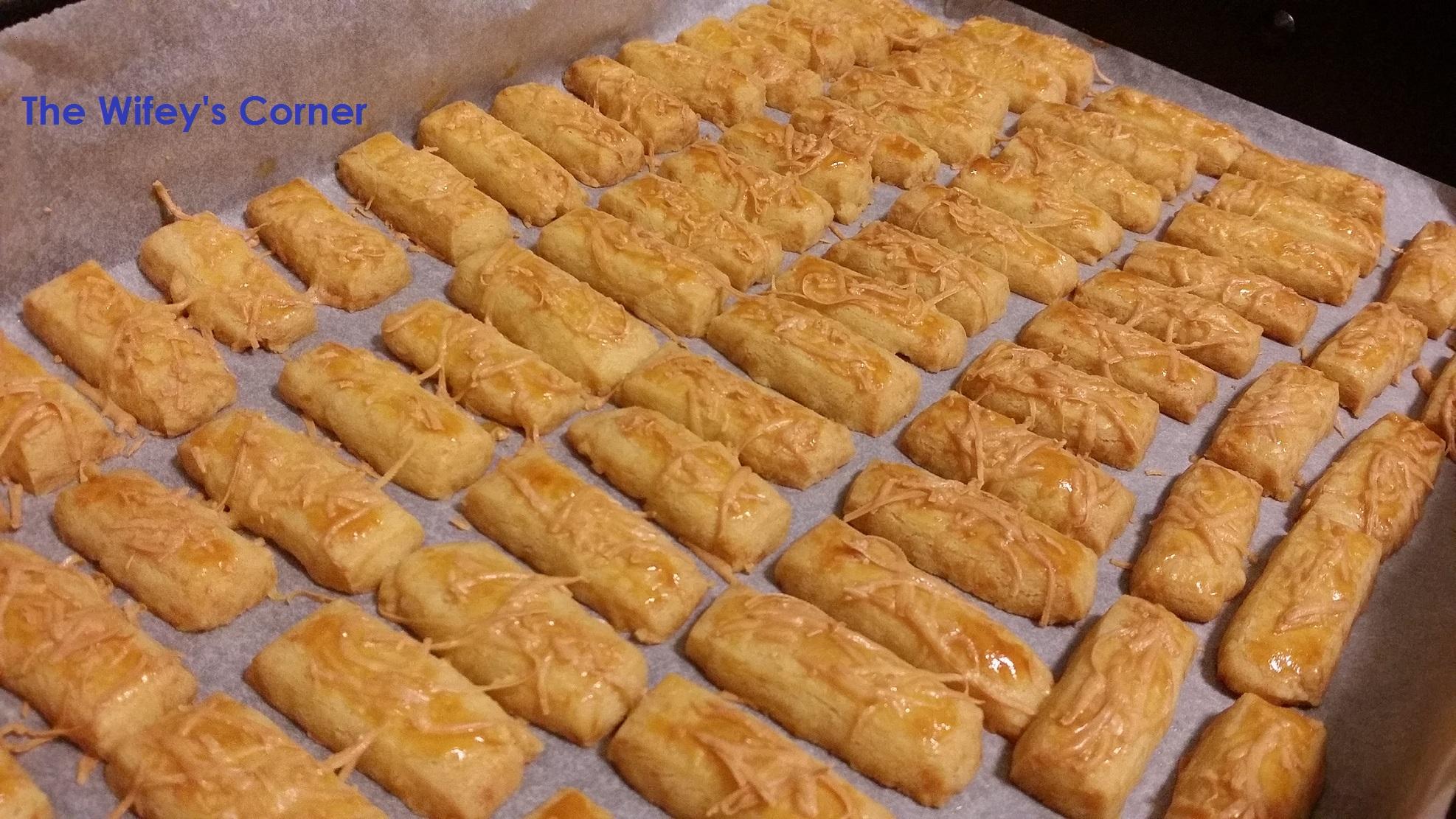 Kastengel aka Cheese Stick Cookies