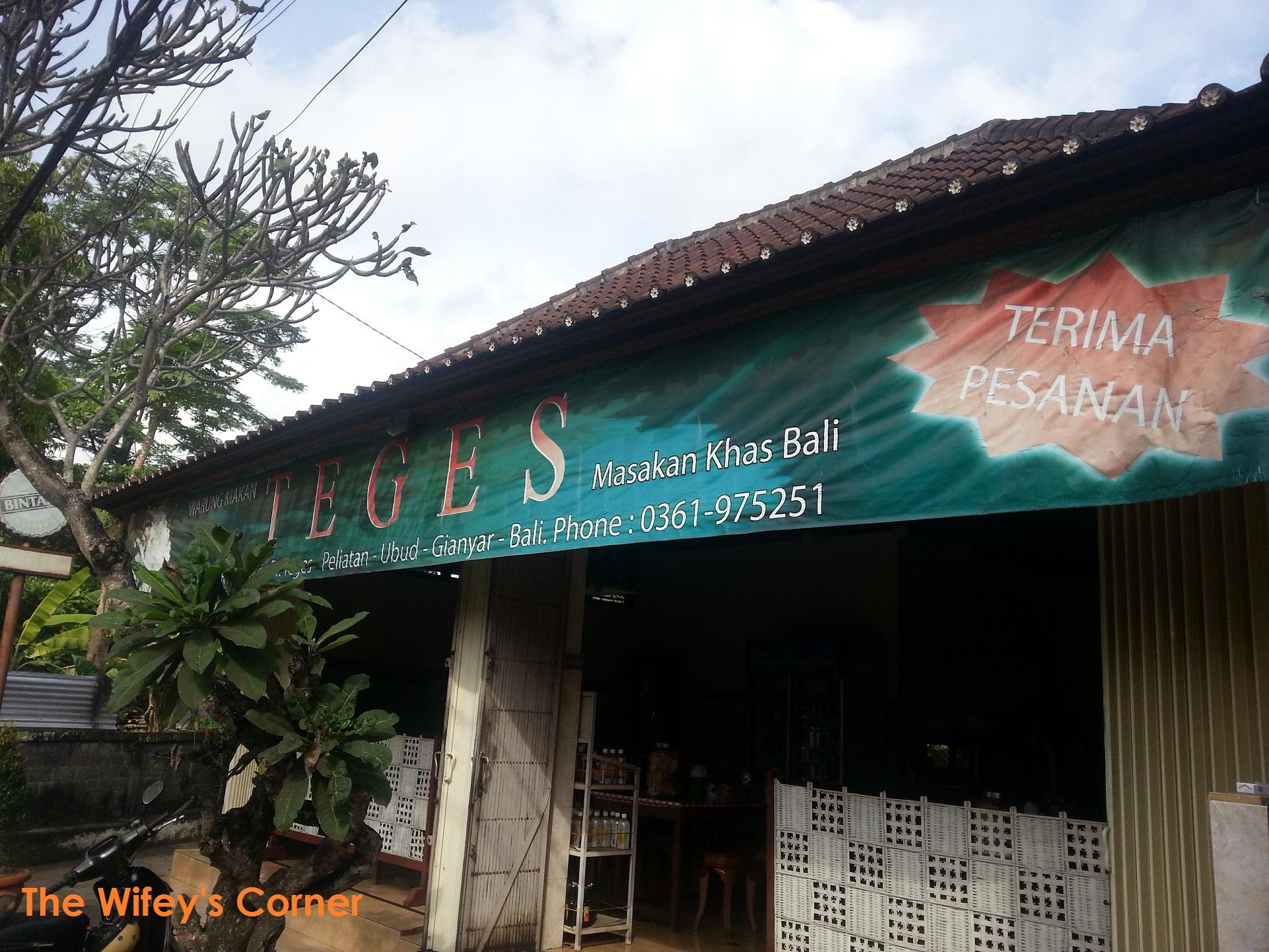 Warung Teges, Ubud