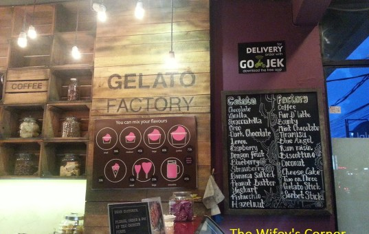 [Review] Gelato Factory, Seminyak