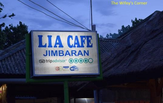 [Review] Lia Cafe, Jimbaran